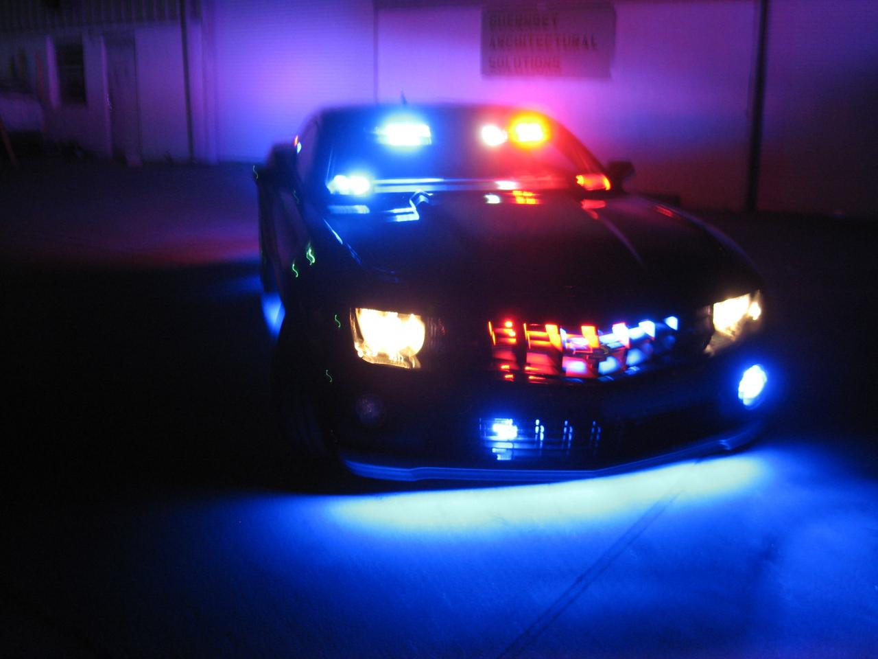 Police Car Lights Gif