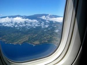 Maui Plane window